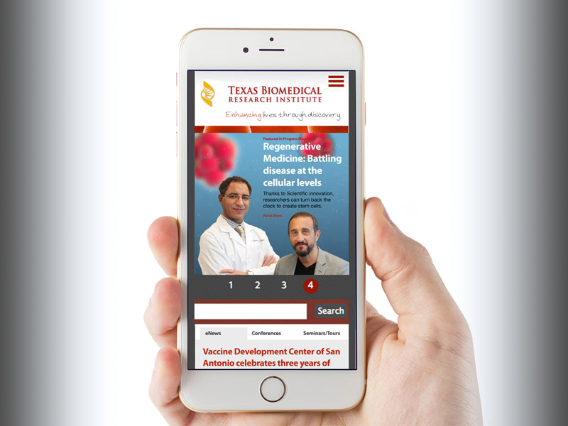 Digital publication designed for san antonio institute